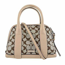 Bolsa Entrenador Bleecker Mini Preston Satchel En Tela Firm