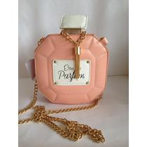 Bolsa Diseñador Perfume Elegante Retro