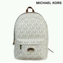 Bolsa Michael Kors Lg Back Pack Vanilla Original Signatur