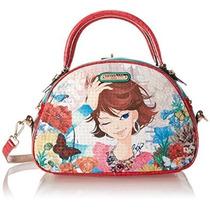 Nicole Lee Xochil Print Bowler Bag