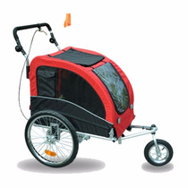 Carro Para Perro Aosom Elite Ii Pet Dog Bike Bicycle Trailer
