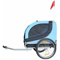 Carro Para Perro Mdog2 Mk0001 Comfy Pet Bike Trailer, Blue