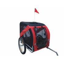 Carro Para Perro Mdog Mk0062a Comfy Pet Bike Trailer - Red