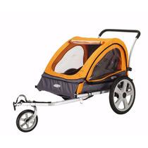 Carro Para Perro Instep Quick N Ez Double Bicycle Trailer