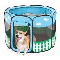 Corral Para Mascotas Tamaño Grande Corralito Tienda Azul