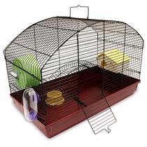 Transportadora Jaula Casa Para Hamster Y Cuyo
