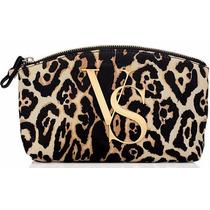 Victorias Secret Leopard Cosmetic Bag