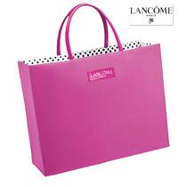 Envio Bolsa Lancome Tote Grande Rosa Logo Mochila Laptop Ve