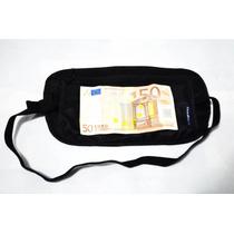 Bolsa Secreta Para Dinero Cangurera De Viaje Cinturon Dinero