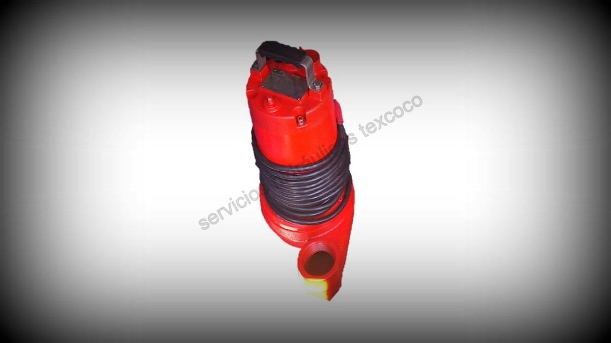 Bomba sumergible dos aspas para agua sucia 1 hp 127 volts - Bombas de agua sucias ...