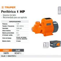 Bomba Electrica Para Agua Periferica 1 Hp