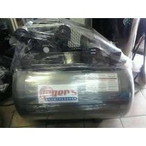 Compresor Rogers De 3 Hp Motor De 1.5 Hp 110/220 Tanque 300