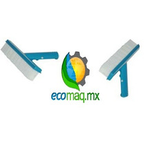 Cepillo Recto De Nylon 10 Pulgadas Para Alberca Ecomaqmx