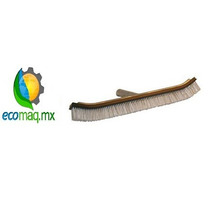 Cepillo Curvo De Inoxidable 18 Pulgada Para Alberca Ecomaqmx