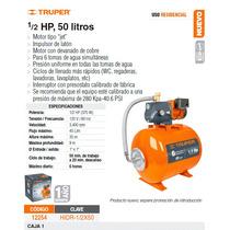 Bomba Hidroneumatica 1/2hp 50lts