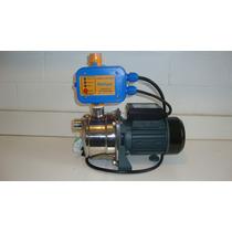 Presurizador Shimge Con Bomba Jet Acero Inox. De 0.5hp 115v.
