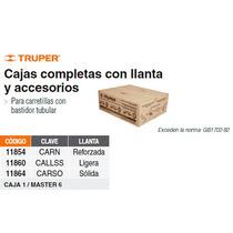 Caja Con Accesorios Y Llanta Solida 14 Para Carretilla