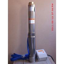 Bomba Sumergible Tipo Bala En Inoxidable 1.5 Hp Tecnobombas