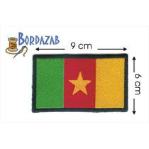 Escudo Parche Bordado Banderas De Camerun