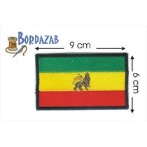Escudo Parche Bordado Banderas De Etiopia