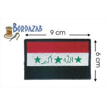 Escudo Parche Bordado Banderas De Irak