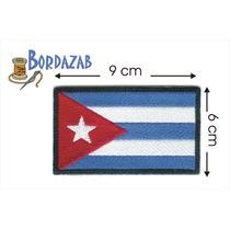 Escudo Parche Bordado Banderas De Cuba