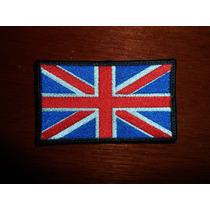 Parche Escudo Bordado Bandera Reino Unido Uk