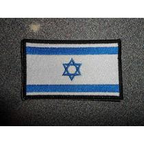 Bandera Israel Bordado Parche Escudo