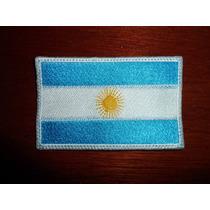 Escudo Parche Bordado Bandera Argentina