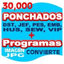 Ponchados Bordados, Ponchados , 30000 Ponchados Pes Brother