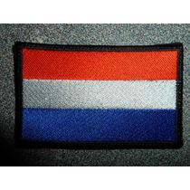 Bandera Bordada De Holanda Parche Escudo