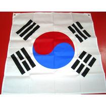 Bandera De Corea Del Sur En Serigrafía Taekwondo