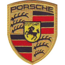 Porsche Carros Parches Bordados