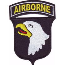 Airborne 101 St Squad Parche Bordado Militar Gotcha