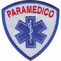 Estrella De La Vida Escudo Parche Bordado Rescate Paramedico