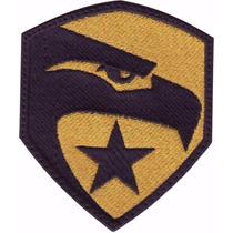 Gi Joe Halcon Falcon Oro Parche Bordado Militar Gotcha