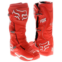 Botas Fox Comp 8 Roja Mx 2016 Motocross Atv Talla 9
