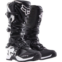 Botas Fox Comp 5 Negra Mx 2016 Motocross Atv ! Talla 7