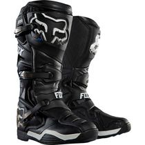 Botas Fox Comp 8 Negra Mx 2016 Motocross Atv Talla 6