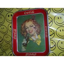 Coca Cola Muy Antigua Charola Posible Cambio