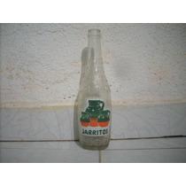 Antigua Botella De Vidrio Refresco Jarritos No Subasta