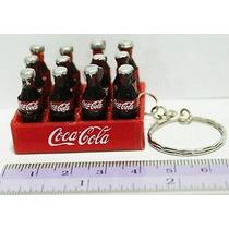 Llavero Rejita De Coca Cola, Miniatura, Nuevo