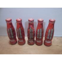 Botellitas De Coleccion De Coca Cola 120 Ml Lote De 5 Piezas