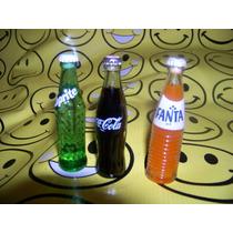 Mini Botellitas Coca Fanta Sprite Llenas, Cada Una 99