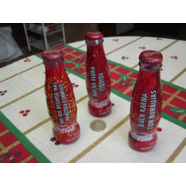 Tres Botellitas De Coleccion De Coca Cola 120 Ml