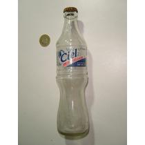 Vintage Botella Vacía De Ciel En Vidrio