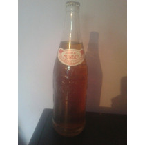 Botella Antigua Mundet De 825 Ml Con El Liquido Original