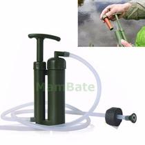 Filtro Purificador De Agua Portable Para Camping