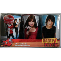 Camp Rock Set De 3 Vasos Grandes Coleccionables