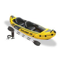 Lancha Inflable Kayak Intex Explorer K2 Para 2 Personas Rios